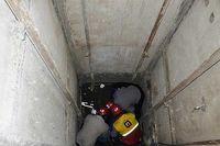 سقوط آسانسور در قم، جان ۴ نفر را گرفت