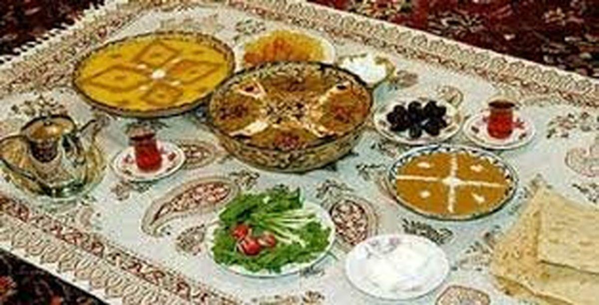 قیمت اقلام سفرههای رمضانی خانوارها