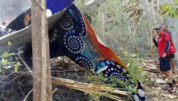 سقوط هواپیما در کاستاریکا +تصاویر