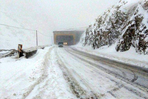 بارش برف در تهران از دوشنبه