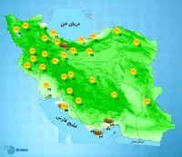 پیشبینی ابر و رگبار پراکنده در برخی نقاط کشور