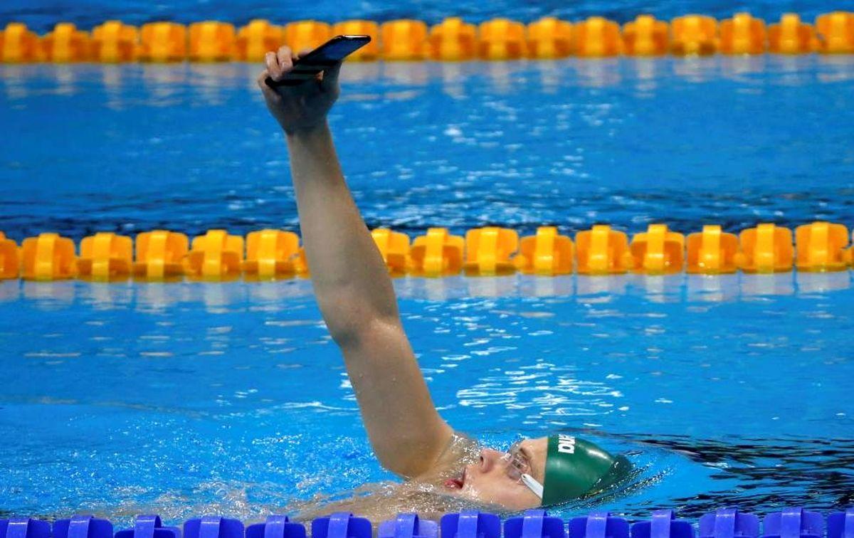 عجیبترین سلفی جهان در المپیک +عکس