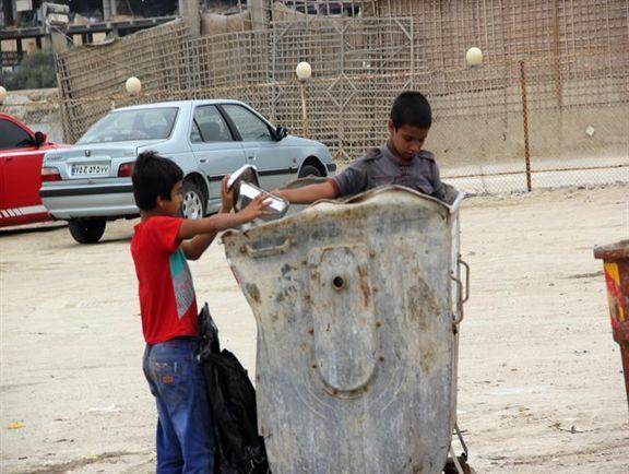 ممنوعیت پیمانکاران در به کارگیری کودکان زباله گرد