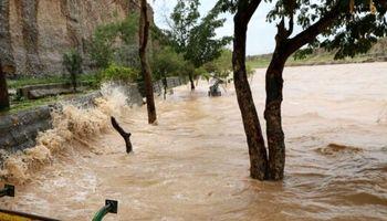 خروش رودخانه کاجو در سیستان و بلوچستان +فیلم