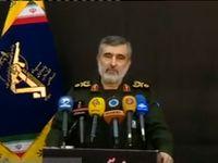 واکنش فرمانده نیروی هوافضای سپاه به سقوط هواپیما +فیلم