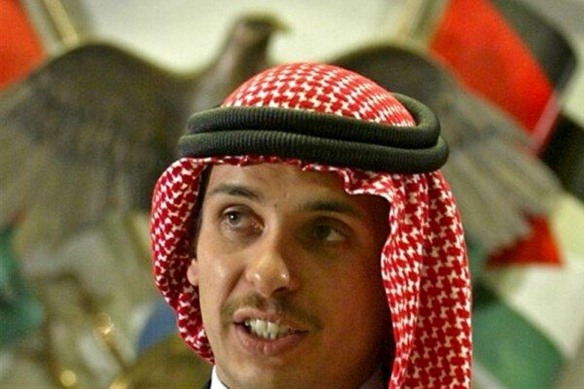 ولیعهد سابق اردن: تحت بازداشت خانگی هستم!