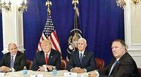 کابینه ترامپ در فکر برکناری او