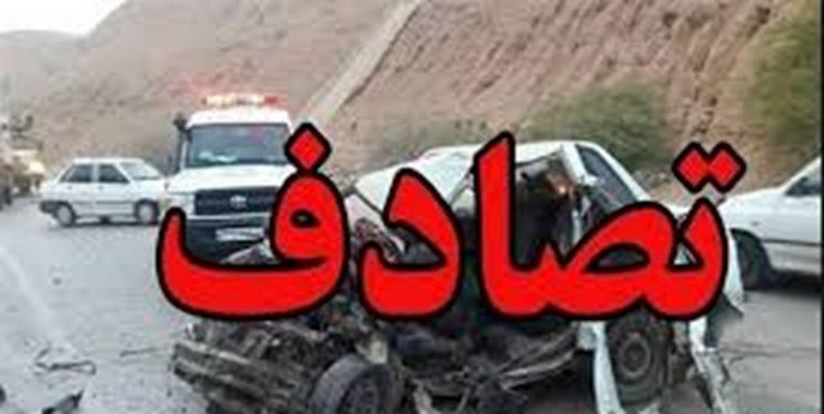 تصادف مرگبار پژو۲۰۶ با تریلی +عکس