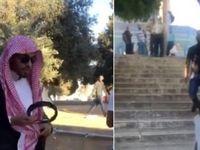 اخراج خبرنگار سعودی با «ناسزا و تحقیر» از مسجدالاقصی +فیلم