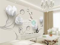 انتخاب کاغذ دیواری و پوستر دیواری پذیرایی