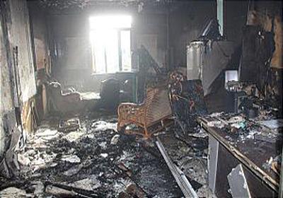 یک دفتر باربری در شاد آباد آتش گرفت