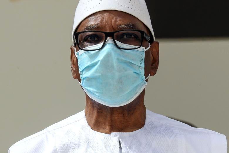 رئیس جمهور مالی ماسک