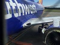 انفجار موتور بوئینگ هنگام پرواز +تصاویر