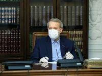 تصویری از علی لاریجانی پس از بهبود بیماری کرونا