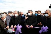 بهره برداری از آزاد راه تبریز - سهند با مشارکت بانک ملت