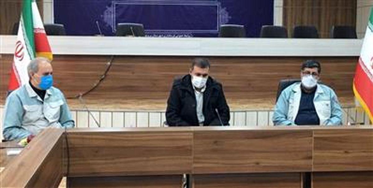 بازدید مسئولان شهرستان بروجن از شرکت ورق خودرو چهارمحال و بختیاری