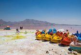 زیباییهای تابستانی دریاچه ارومیه +تصاویر