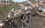 شکاف زمین و دیوار خانهها در سمنان +تصاویر