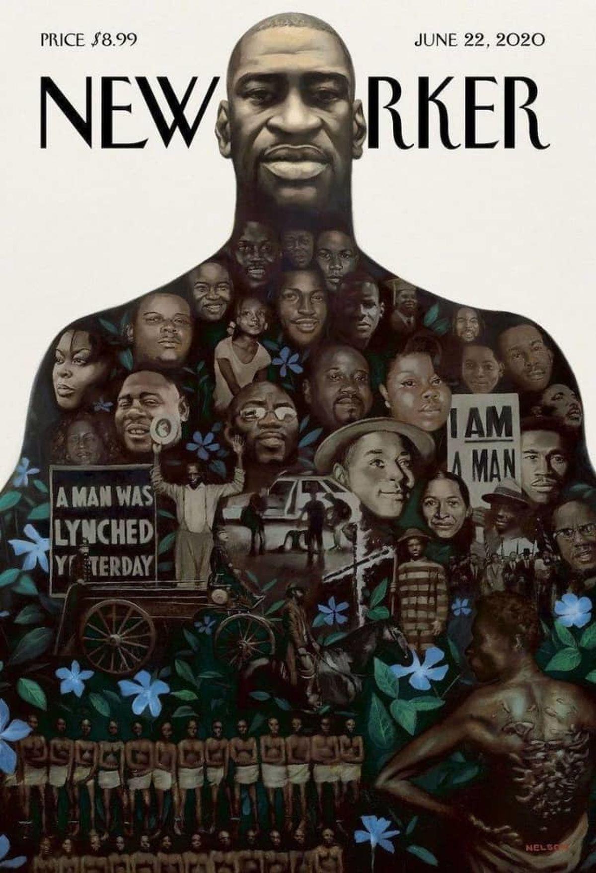 جلد نشریه نیویورکر به مناسبت اعتراضات ضد نژادپرستی +عکس