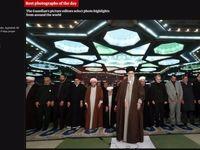 تصویر روز گاردین از نماز جمعه دیروز تهران