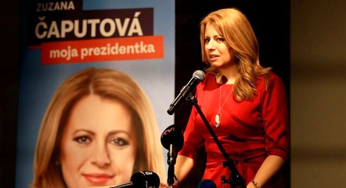 برای نخستین بار یک زن رییس جمهور اسلواکی شد