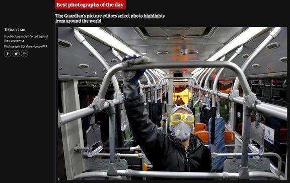 بازتاب ضدعفونی کردن متروی تهران در گاردین +عکس