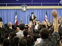 دیدار دانشجویان و نمایندگان تشکلها با رهبر انقلاب