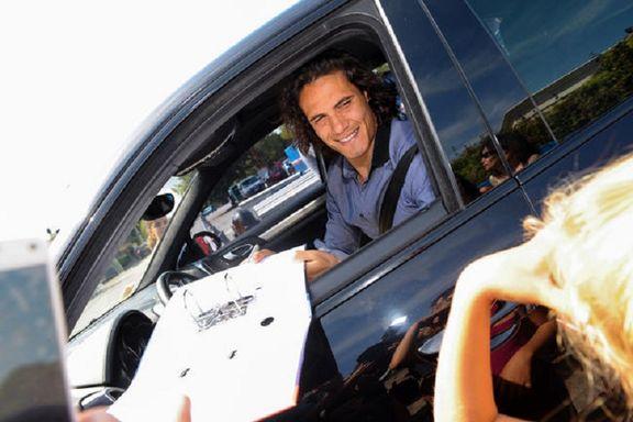 سرقت خودروی لوکس فوتبالیست مشهور +عکس