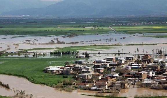 لایروبی گرگان رود کافی نبود/ گمیشان همچنان در محاصره آب