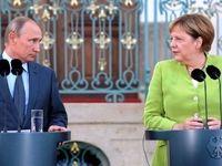 مذاکرات پوتین و مرکل آغاز شد