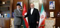 دیدار ظریف با وزیر خارجه عمان +تصاویر