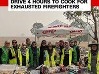 کمک زنان مسلمان در سانحه آتشسوزی استرالیا