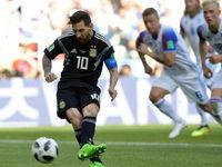 پنالتی ناموفق مسی در مقابل ایسلند در جامجهانی +فیلم