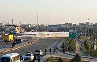 هواپیمای حادثهدیده کاسپین به فرودگاه ماهشهر منتقل شد