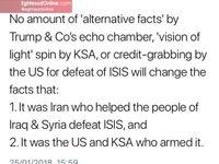 توییت جدید ظریف خطاب به آمریکا و عربستان