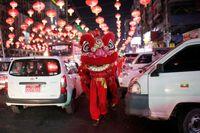 جشن سال نو به سبک چینیها +عکس