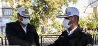 رانندگان فاقد ماسک جریمه شدند +عکس