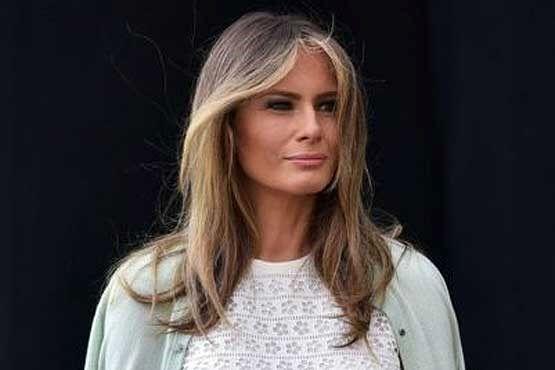 همسر دونالد ترامپ در دوران خردسالی +عکس