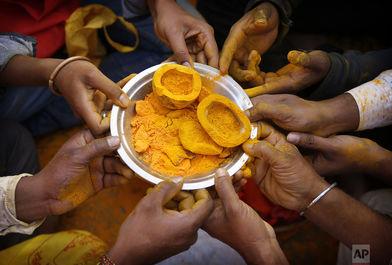 فستیوال زردچوبه در هندوستان