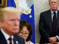 نشانههای جدید از تصمیم ترامپ برای اخراج بولتون