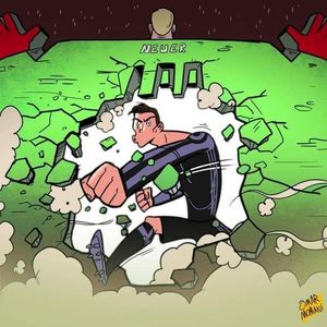 رونالدو اینطوری صدتایی شد! (کاریکاتور)