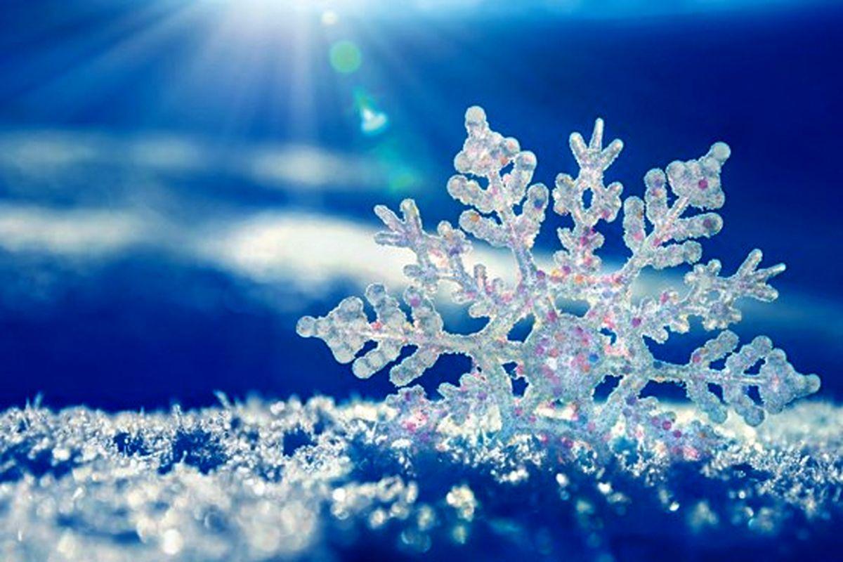 تصاویری شگفتآور از برف ازنا! +فیلم