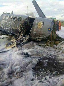 یک فروند هواپیمای نظامی مالزی سقوط کرد +عکس