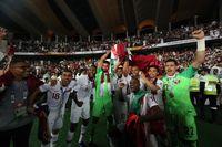 جشن قطریها پس از تاریخسازی در آسیا+ تصاویر