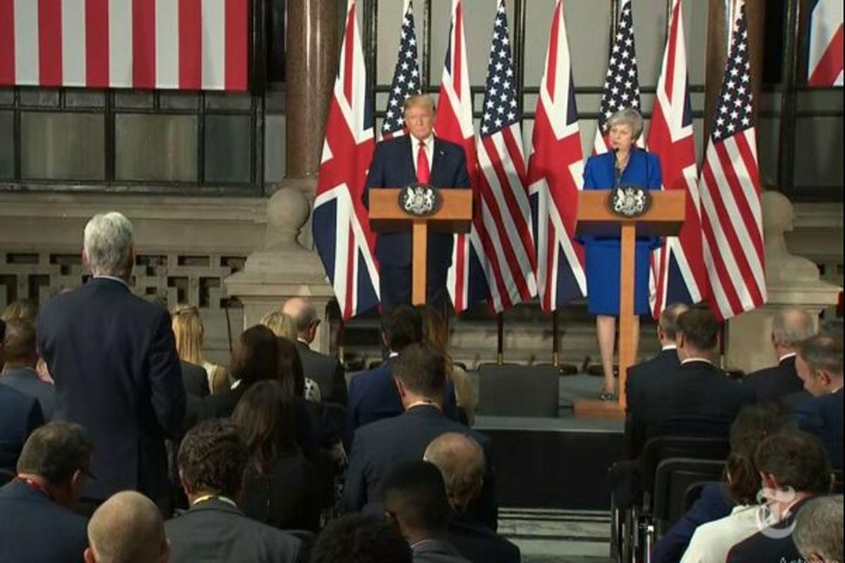 ترامپ: مانع از دستیابی ایران به سلاح هستهای میشویم