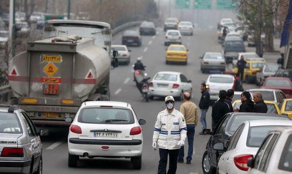"""افزایش نگرانکننده """"اُزن"""" در هوای تهران"""