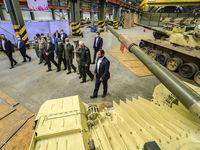 تانکهای جدید نیروهای مسلح +عکس