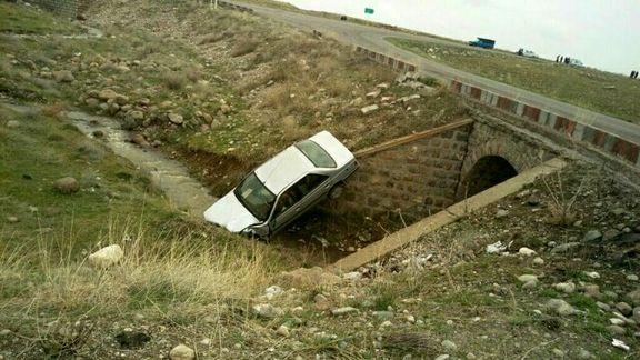 حادثه رانندگی ۶مصدوم برجای گذاشت