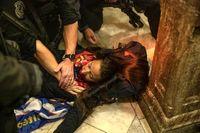 اولین زن کشته شده در اغتشاشات کنگره  آمریکا +عکس