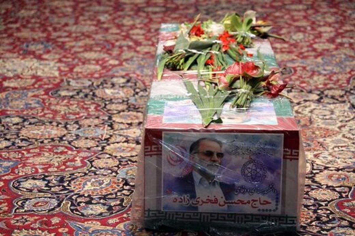 محل دفن شهید فخری زاده +عکس